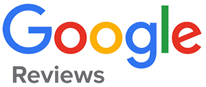 The logo for Google reviews